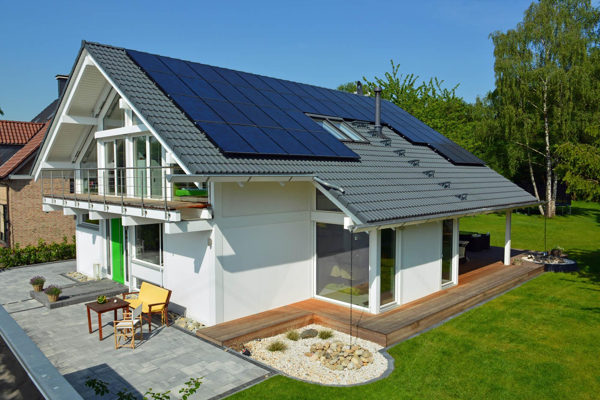 Energiesparhaus Thermoplus - umfeldfreundliche Materialien - KD Haus