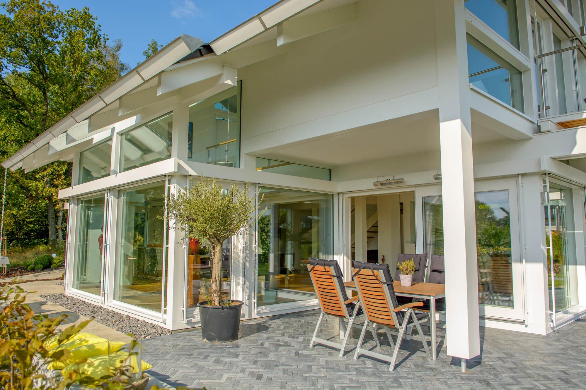 Thermoplus-Außenwand für Holzskeletthäuser - KD Haus