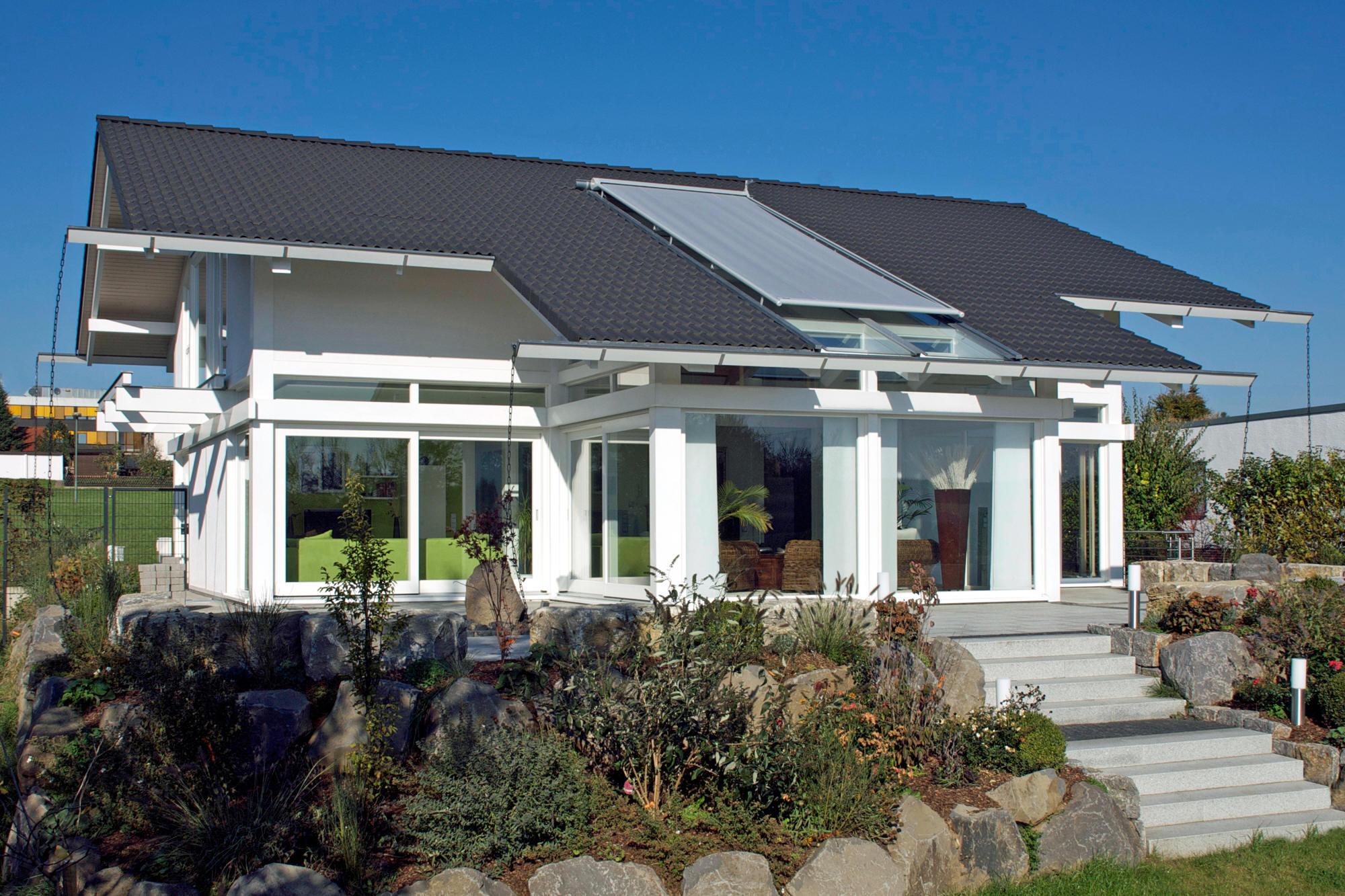 Modernes Holzskeletthaus KD 212 - KD Haus