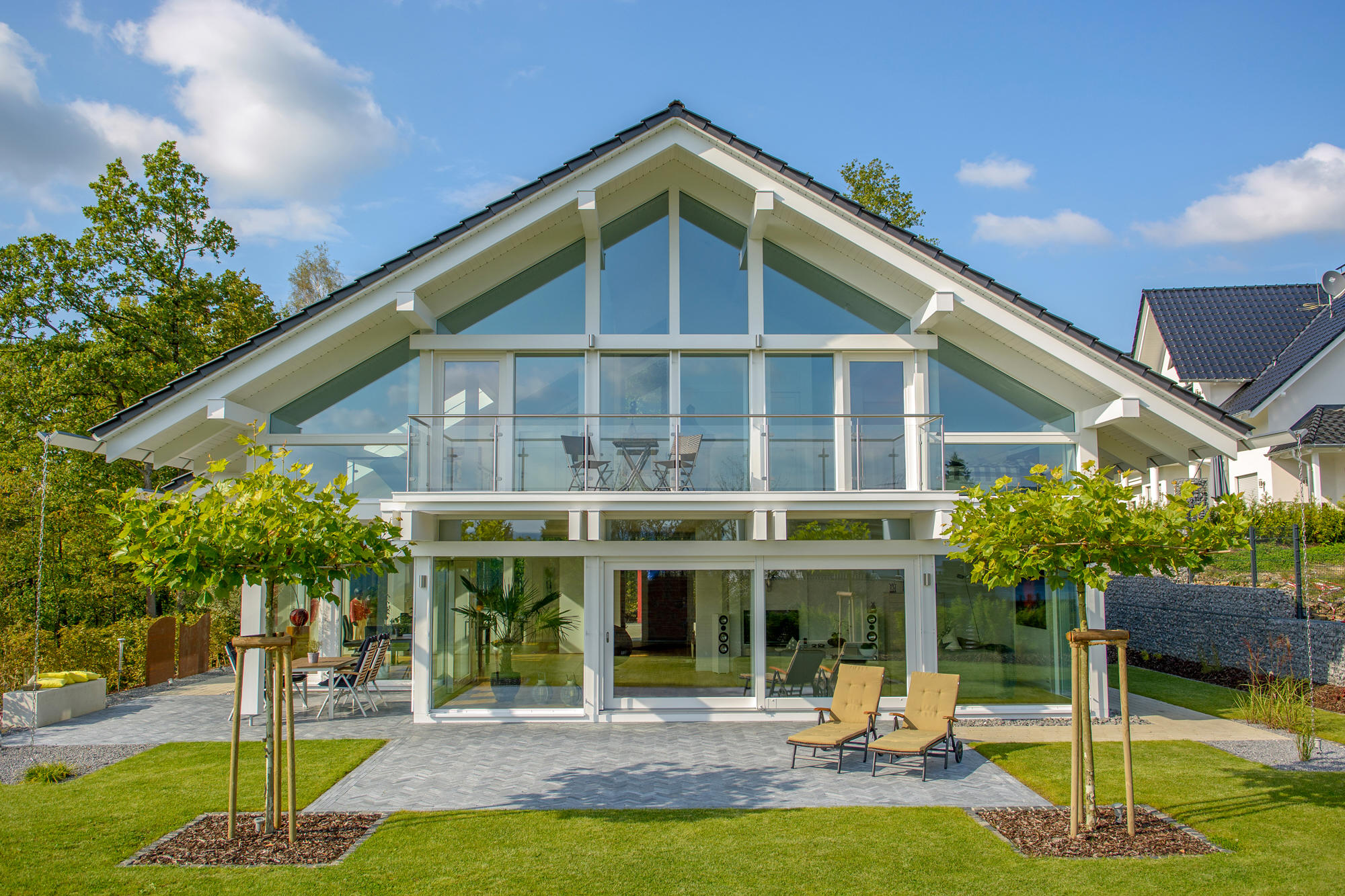 Modernes Holzskeletthaus KD 244 - KD Haus