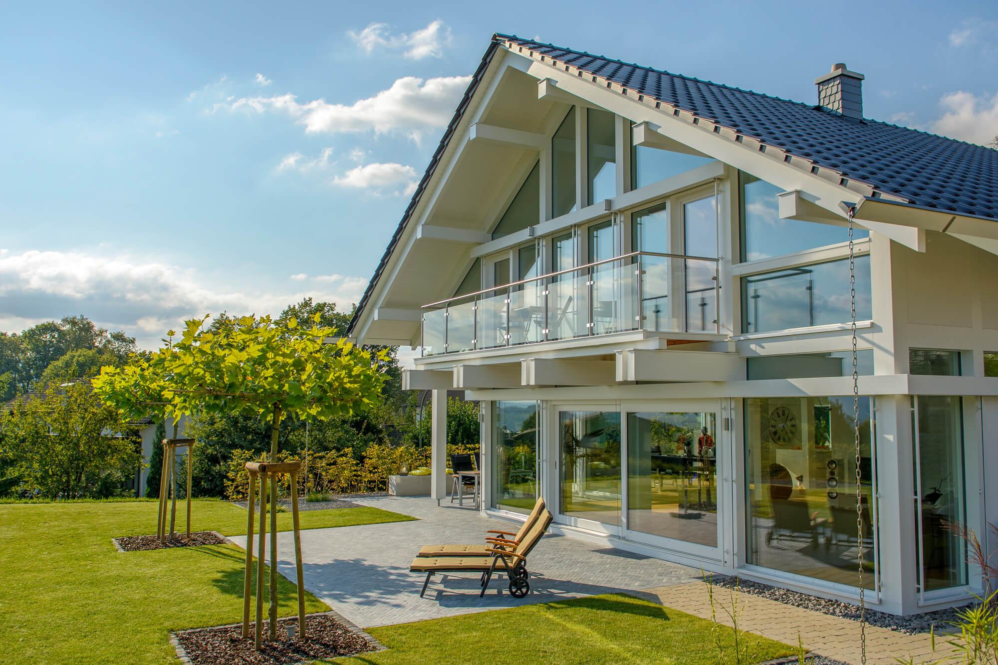 Fachwerkbauweise individuell - KD Haus